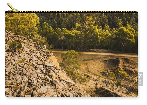 Rocky Hills And Forestry Views Carry-all Pouch