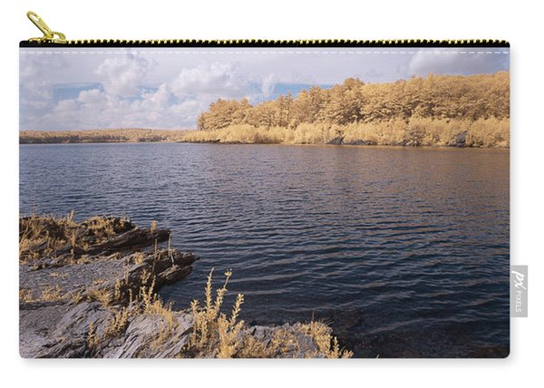 Carry-all Pouch featuring the photograph Rocky Ir by Brian Hale
