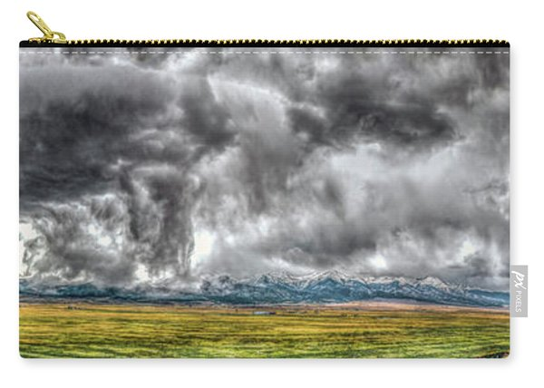 Rocky Mountain Panorama Hdr Carry-all Pouch