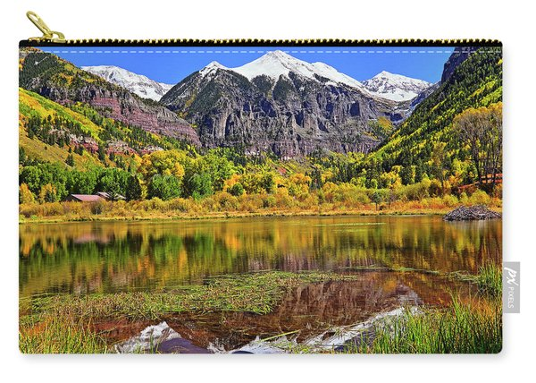 Rocky Mountain Reflections - Telluride - Colorado Carry-all Pouch