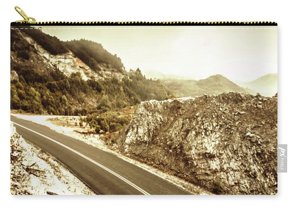 Rocky Mountain Roads Carry-all Pouch