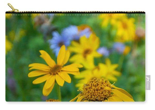 Rocky Mountain Wildflowers Carry-all Pouch