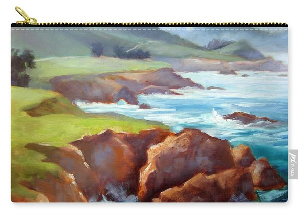 Rocky Point Afternoon Big Sur Carry-all Pouch