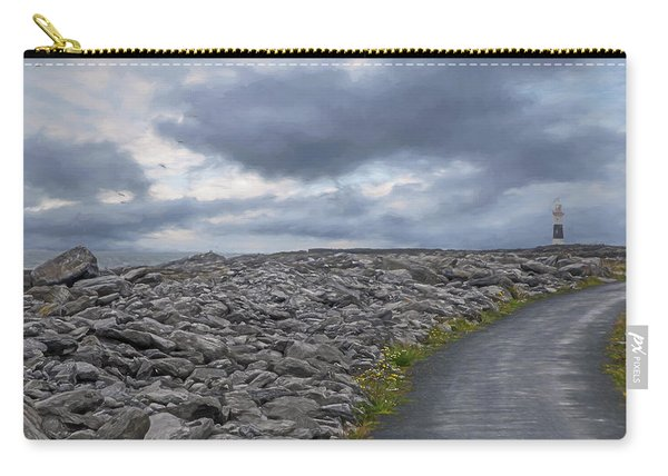 Rocky Road To The Lighthouse Carry-all Pouch