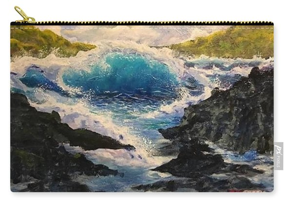 Rocky Sea Carry-all Pouch