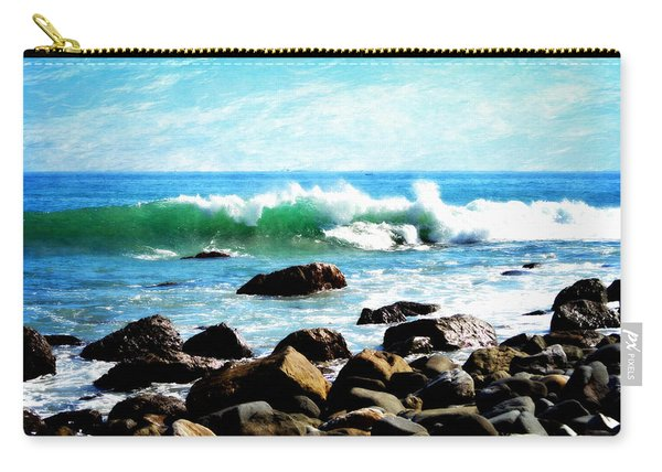 Rocky Shoreline - Dana Point Carry-all Pouch
