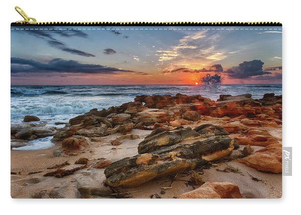 Rocky Sunrise Carry-all Pouch