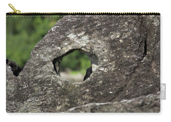 Carry-all Pouch featuring the photograph Rocky View Point by Debbie Cundy