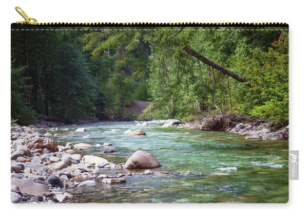 Rocky Waters In The North Cascades Landscape Photography By Omas Carry-all Pouch