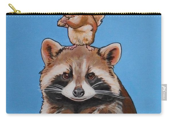 Rodney The Raccoon Carry-all Pouch