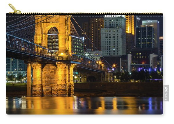 Roebling Bridge Nights Carry-all Pouch