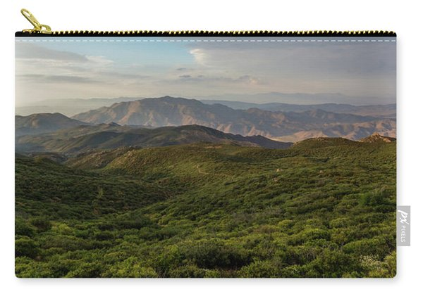 Rolling Hills Of Chaparral Carry-all Pouch