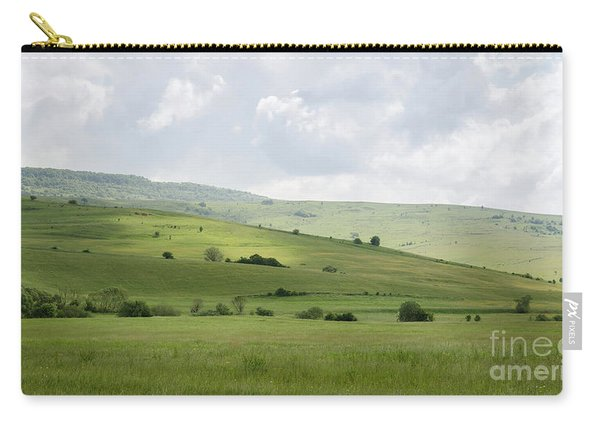 Rolling Landscape, Romania Carry-all Pouch