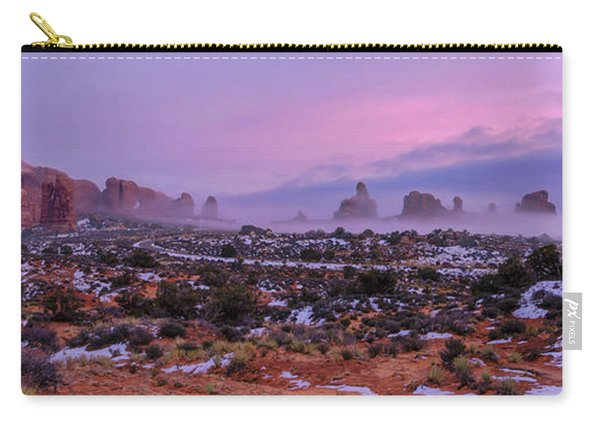 Rolling Mist Through Arches Carry-all Pouch