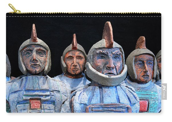 Roman Warriors - Bust Sculpture - Roemer - Romeinen - Antichi Romani - Romains - Romarere Carry-all Pouch