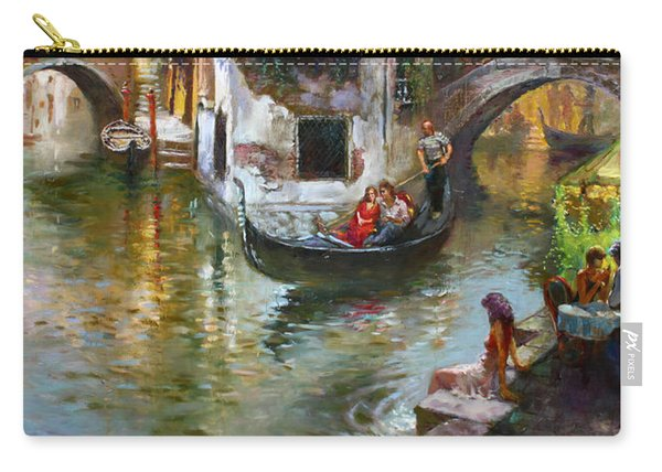 Romance In Venice 2 Carry-all Pouch