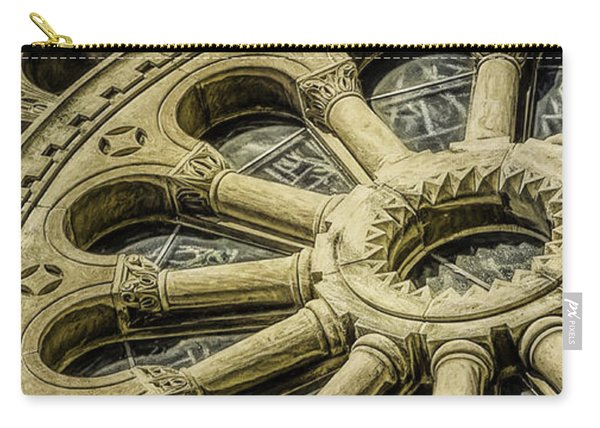 Romanesque Wheel Carry-all Pouch