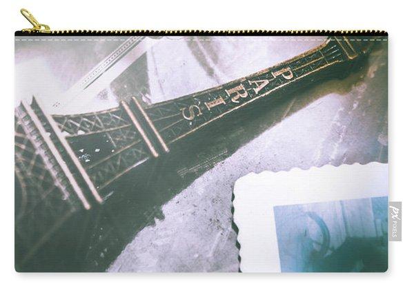 Romantic Paris Memory Carry-all Pouch