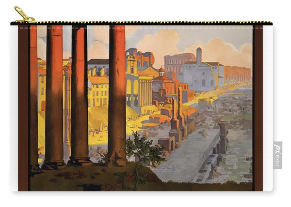 Rome, Ancient Ruins, Railway Carry-all Pouch