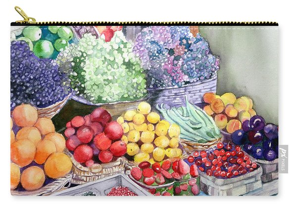 Rome Market Carry-all Pouch