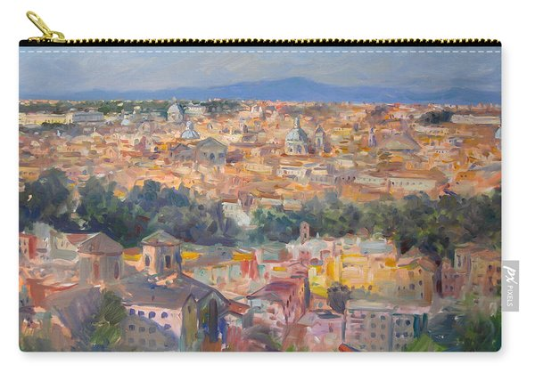 Rome View From Gianicolo Carry-all Pouch