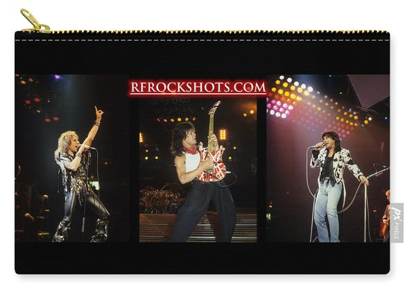 Ronnie James Dio, Eddie Van Halen And Steve Perry Carry-all Pouch