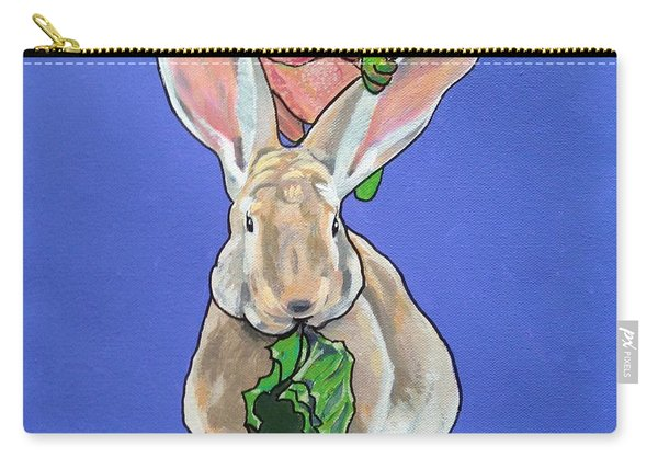 Ronnie The Rabbit Carry-all Pouch