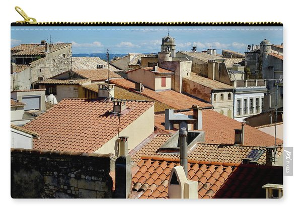 Roofs Of Arles Carry-all Pouch