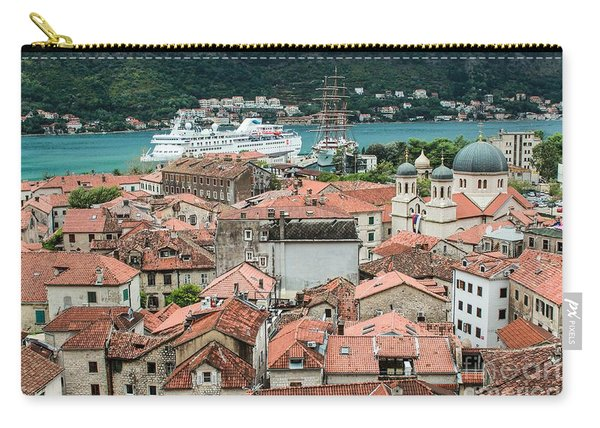 Rooftops Of Kotor  Carry-all Pouch