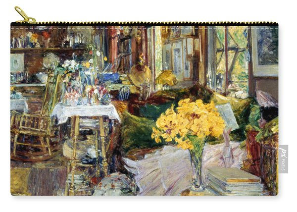 Room Of Flowers, 1894 Carry-all Pouch