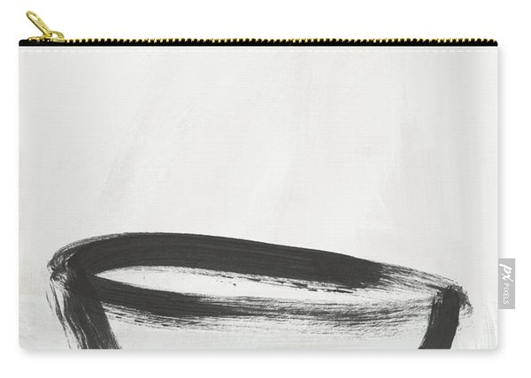 Room To Receive 1- Zen Abstract Art By Linda Woods Carry-all Pouch