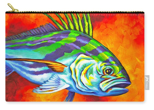 Rooster Fish Carry-all Pouch