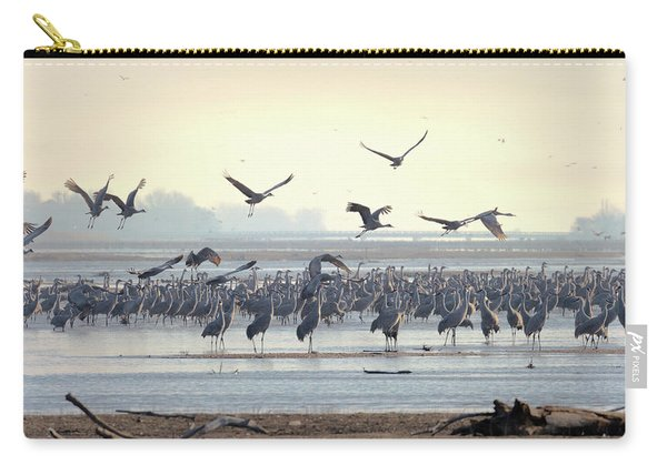 Roosting On The Platte Carry-all Pouch