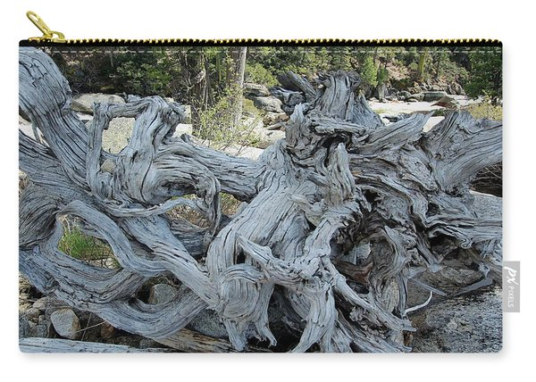 Carry-all Pouch featuring the photograph Roots In Nature by Sean Sarsfield