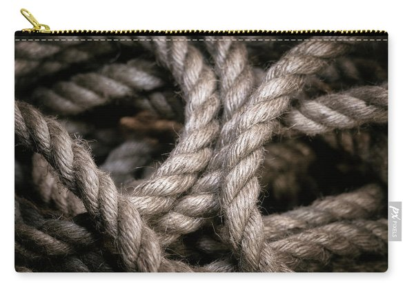 Rope Abstract Carry-all Pouch