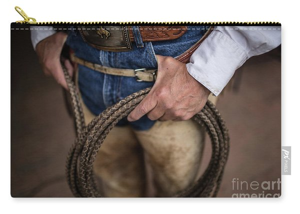 Rope And Belt Carry-all Pouch