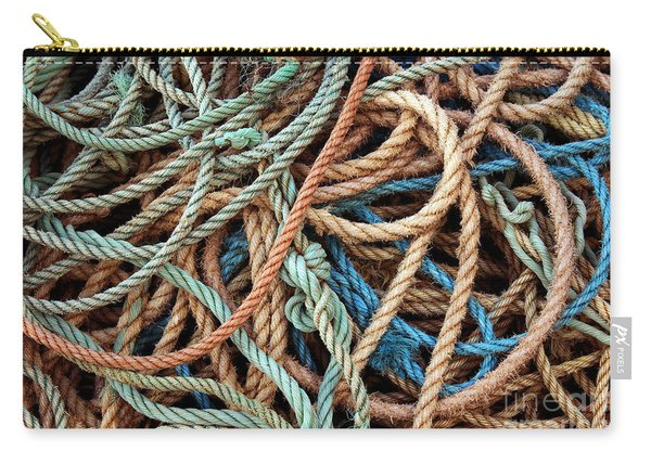 Rope Background Carry-all Pouch