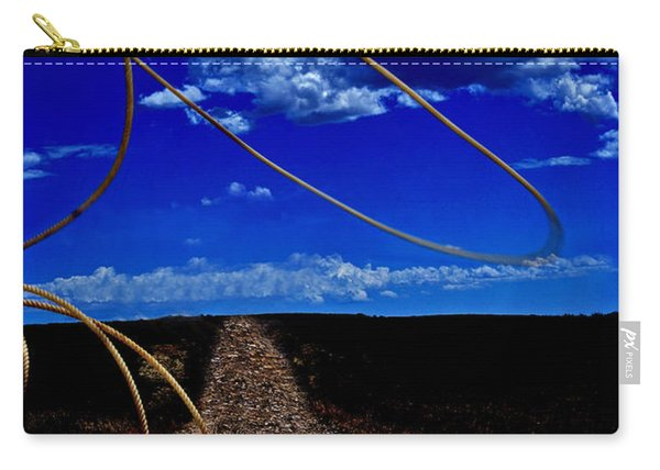Rope The Road Ahead Carry-all Pouch
