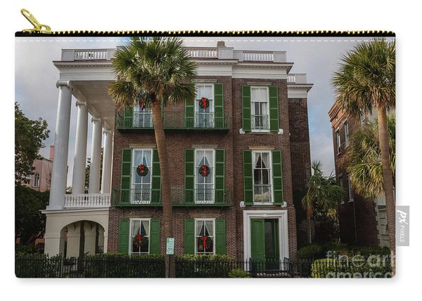 Roper Mansion In December Carry-all Pouch