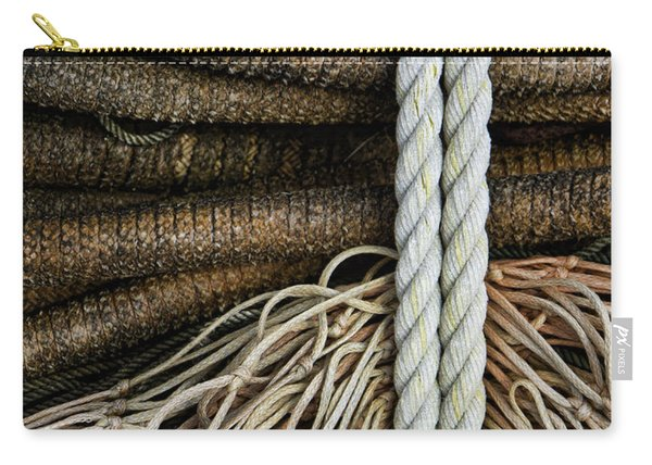 Ropes And Fishing Nets Carry-all Pouch