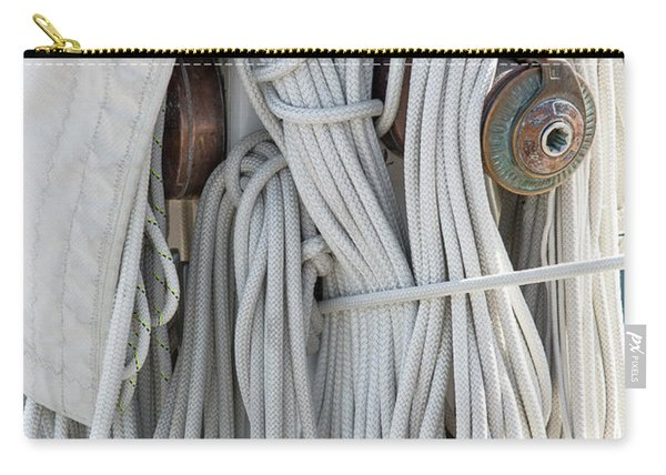 Ropes Of A Sailboat Carry-all Pouch