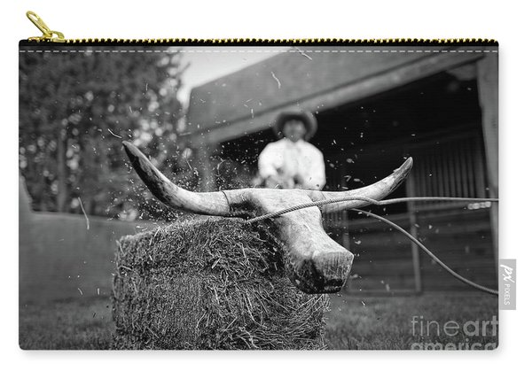 Roping Practice Carry-all Pouch