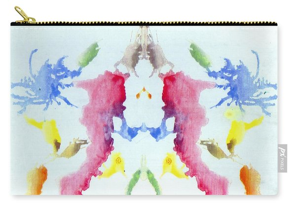 Rorschach Test Card No. 10 Carry-all Pouch