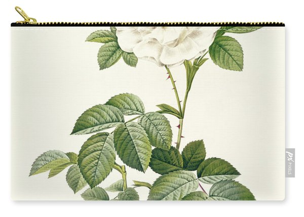 Rosa Alba Flore Pleno Carry-all Pouch