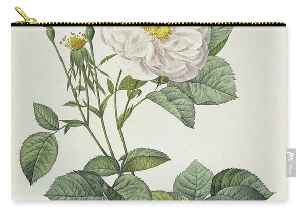 Rosa Alba Foliacea Carry-all Pouch