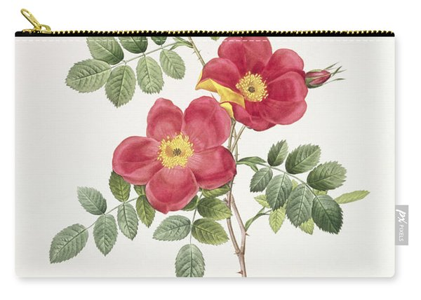 Rosa Eglantera Punicea Carry-all Pouch