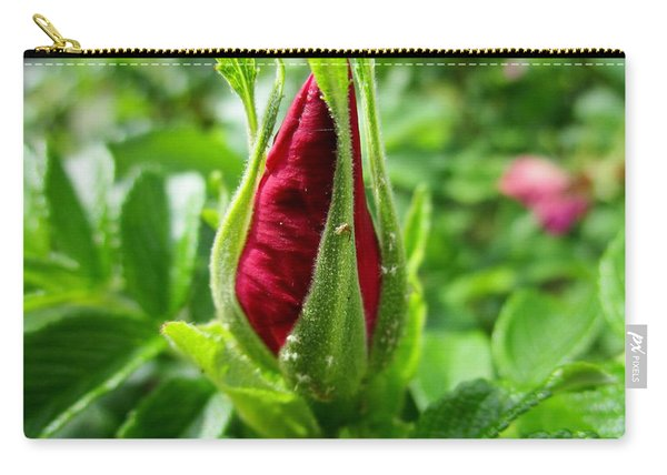 Rose Bud Carry-all Pouch
