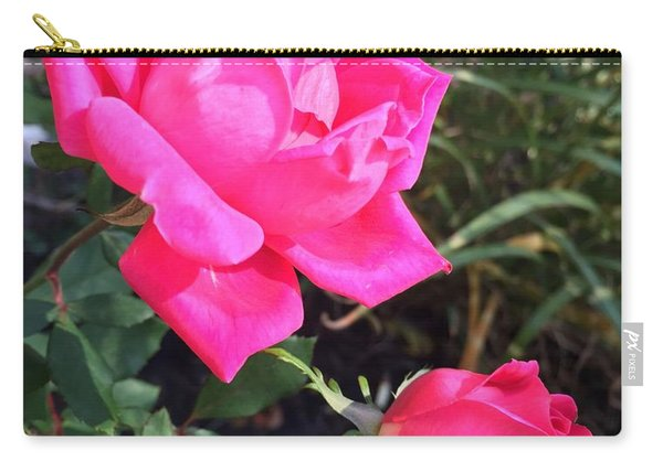 Rose Duet Carry-all Pouch
