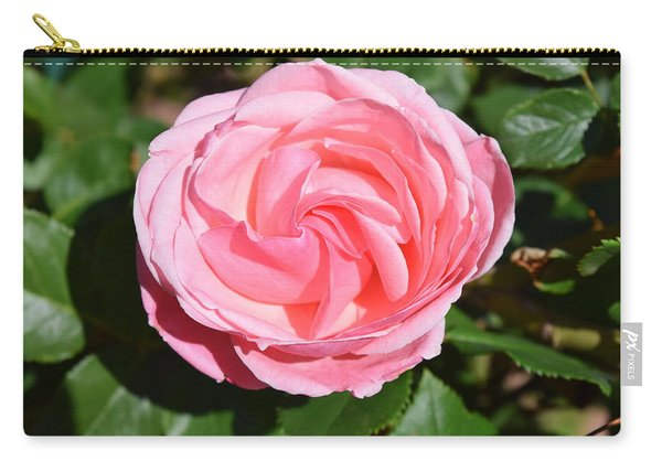 Carry-all Pouch featuring the photograph Rose Flower by Margarethe Binkley