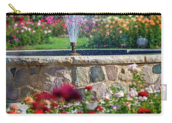 Rose Fountain Carry-all Pouch